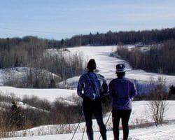 Auberge de la montagne coup e saint jean de matha - Montagne coupee ski de fond ...