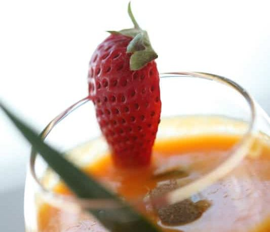 Auberge-Montagne-Coupée-jus-smoothie-déjeuners-breakfast-juice