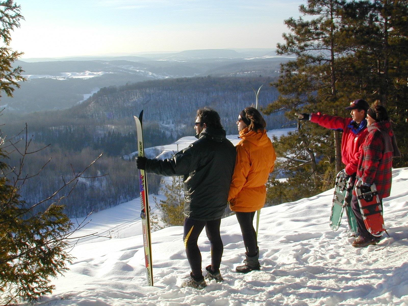 Auberge montagne coup e st jean de matha h bergement lanaudi re - Montagne coupee ski de fond ...