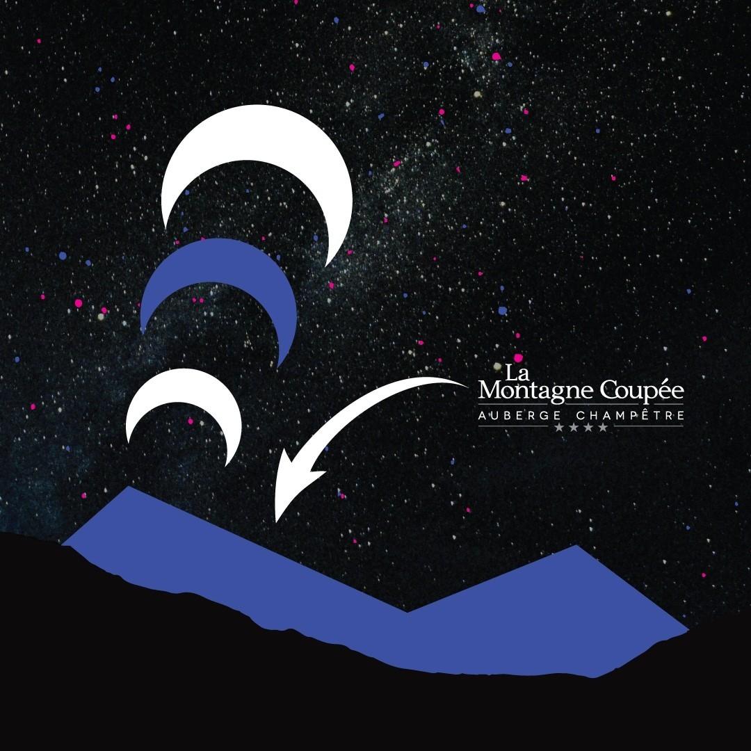 Observation astronomie auberge de la montagne coup e - Auberge de la montagne coupee ...